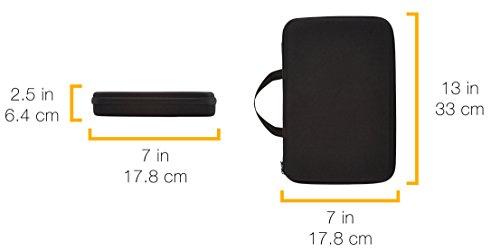 『Amazonベーシック カメラケース(GoProカメラ用) キャリングケース Lサイズ ブラック』の7枚目の画像