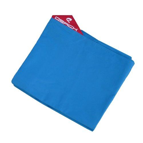QSack Pouf XXL per esterni, rivestimento, 140 x 180 cm (blu)