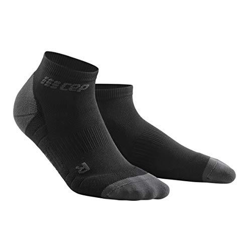 CEP – Low Cut Socks 3.0 für Damen | Kurze Sportsocken für Dein Workout in schwarz/grau | Größe III