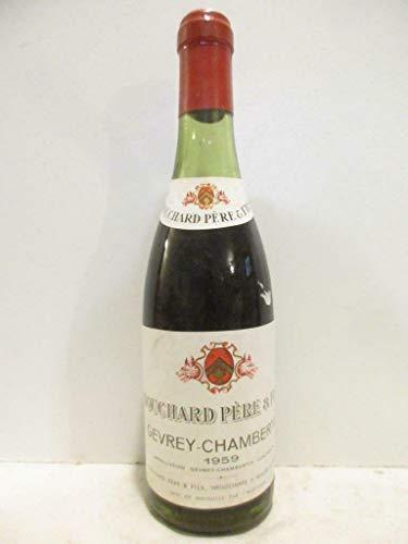 37,5 cl gevrey-chambertin bouchard père et fils (b5) rouge 1959 - bourgogne