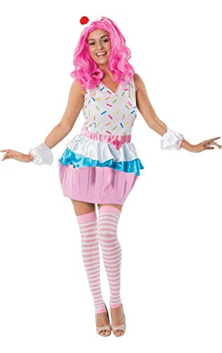 Adulto Cupcake Fancy Dress Costume
