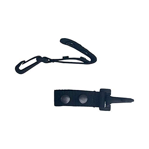 Ewart Tactical Belt Keeper with Plastic Key Clip 2 PK - for Duty Gear Belt...
