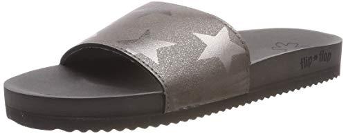 flip*flop Damen Pool Starlight Sandalen, Steel, 40 EU