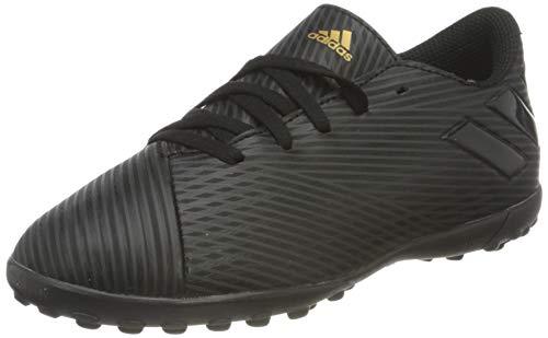 Adidas Nemeziz 19.4 TF J, Botas de fútbol Niño, Multicolor (Negbás/Negbás/Neguti 000), 34 EU