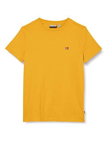 NAPAPIJRI K SELIOS T-Shirt, Giallo (Mango Yellow Y171), 12 Anni Bambino