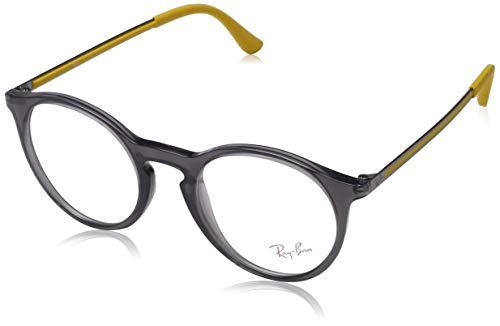 Ray-Ban 0Rx7132, Monturas de Gafas para Hombre, Opal Grey, 48