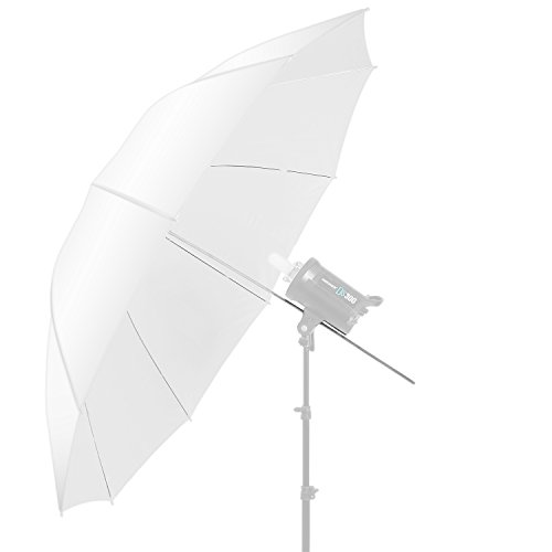 Neewer 60 inch/152cm Photography Translucent Soft White Diffuser Umbrella for Photo...