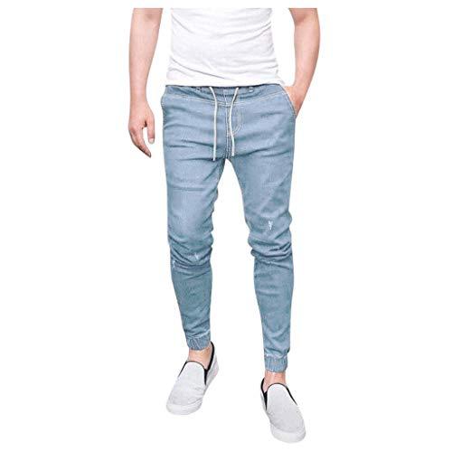 Meilily Stretch Jeans Herren, Jeans Herren Slim Fit, Stretchy Slim Fit Jeanshose für...