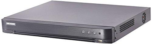 Hikvision H.265+ Turbo HD 16CH DVR 4K HDMI soporta hasta 8 MP TVI/4 MP AHD/2 MP CVI/Plus 8 CH de 6 MP IP CAM (HDD no Incluido)