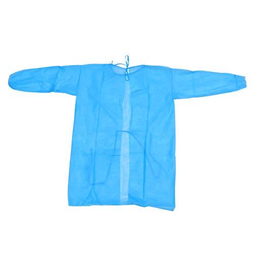 KESYOO Beschermende Overall past Wegwerp Medische Overalls Operatiejas Non-Woven Bescherming Body Pak Voor Ziekenhuis Voor Kinderen 90-150Cm