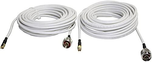 Wittenberg Antennen Cable de Antena 103287 N-Macho SMA-Macho