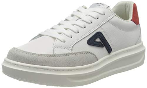 Pepe Jeans Abbey Arch, Zapatillas para Mujer, Color Blanco 800, 36 EU