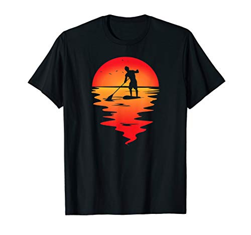 SUP paddleboarding Stand Up Paddle paddling paddel supboard T-Shirt