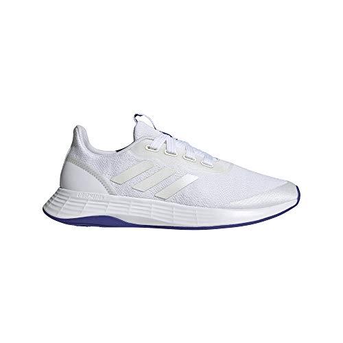 adidas QT Racer Sport, Zapatillas de Running Mujer, FTWBLA/FTWBLA/SEMDES, 41 1/3 EU