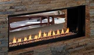 Best small see through fireplace Reviews
