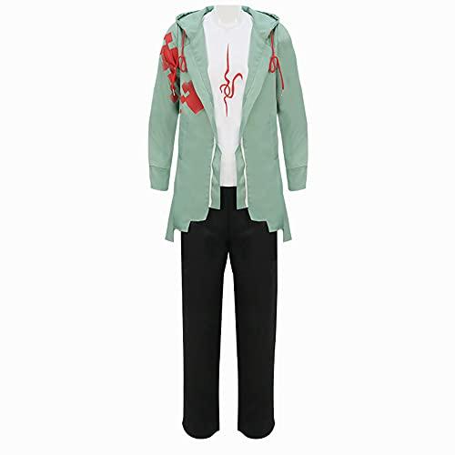 Nagito Komaeda - Disfraz de cosplay para hombre y mujer, chaqueta con capucha, pantalones para fiesta de Halloween, Nagito Komaeda, L