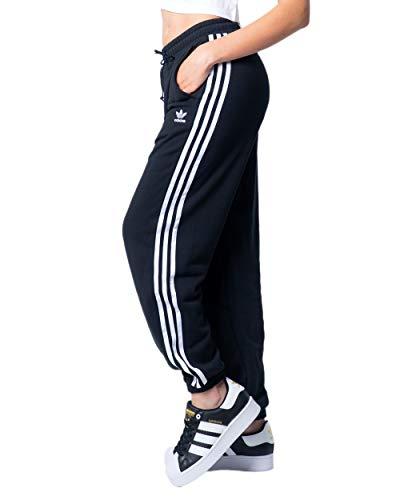 adidas Damen Jogger Pants Jogginghose, Schwarz, 38