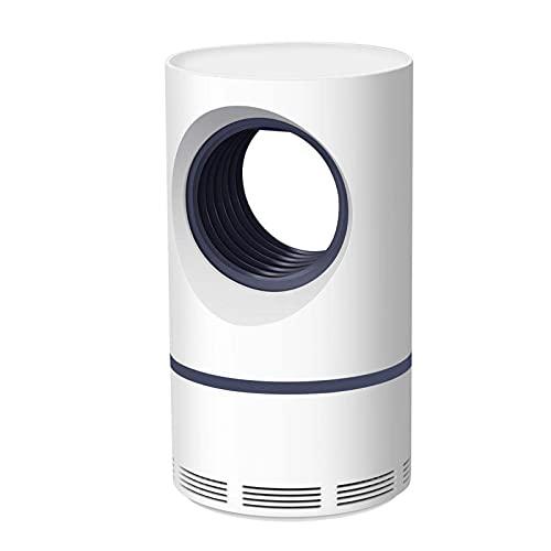 AKEFG Trampa de Mosquitos eléctrica para Interiores, Bug Zapper para el hogar, 6 Cuentas de Trampa de Mosquitos, con Fuente de alimentación USB, para el hogar, Dormitorio, Cocina, Oficina