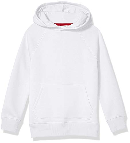 Amazon Essentials Pullover Hoodie Sweatshirt Fashion, Blanco, XS