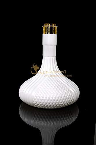Dschinni Baba Bowl Iron White (mit Gewinde Gold)