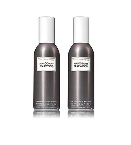 Spray de Bath and Body Works 2 Pack Teakwood concentrado quarto. 1.5 Oz.
