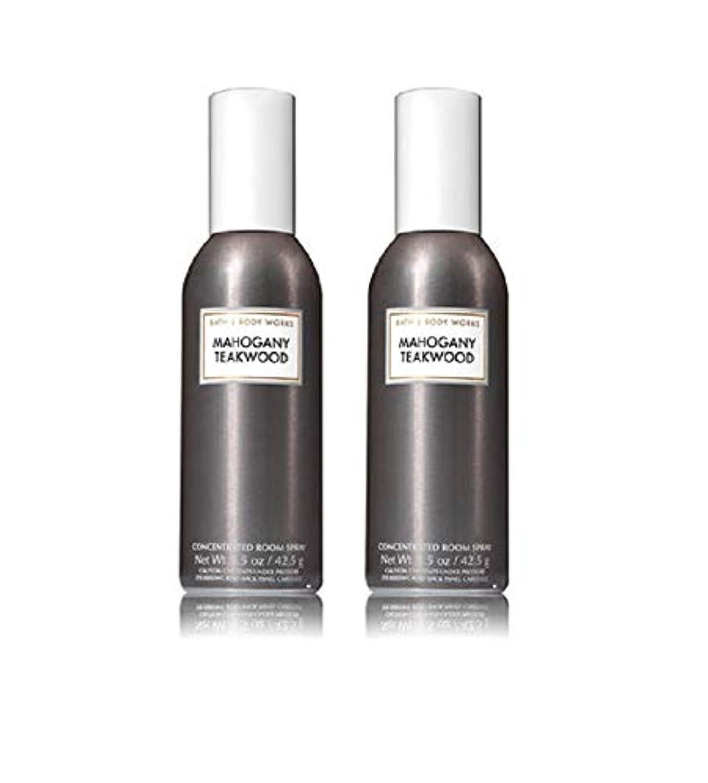 隠す冗談で天国Bath and Body Works 2パックTeakwood Concentrated Room Spray。1.5オンス