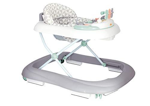 Bieco Baby Lauflernhilfe | 3in1 | Gehfrei Baby ab 6 Monaten | Baby-Walker | Spielcenter mit Aktivität & Melodien | Kippsichere Kinder Lauflernhilfe | Höhenverstellbar | Mit Wippfunktion