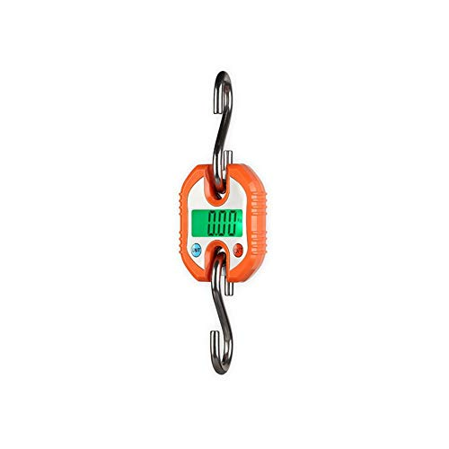 LJP Básculas Colgantes Mini Balanzas Electrónicas Escala De Bolsillo Ideal para La Agricultura Ganadera Portátil Industrial Que Pesa 150 KG / 0.15 (Color : Orange)