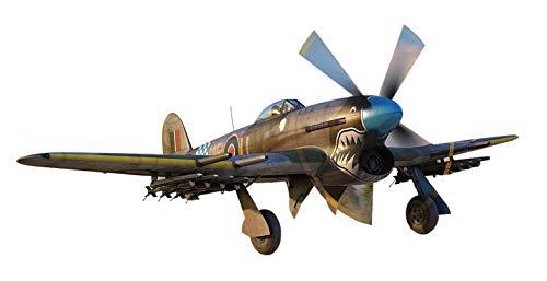 Airfix A02041A 1/72 Hawker Typhoon Mk.Ib Modellbausatz, verschieden, 74 Pieces
