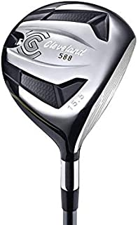 Cleveland 588 Fairway Wood 3 Wood 3W 15.5° Matrix Ozik 6Q3 Graphite Stiff Right Handed 43.75in