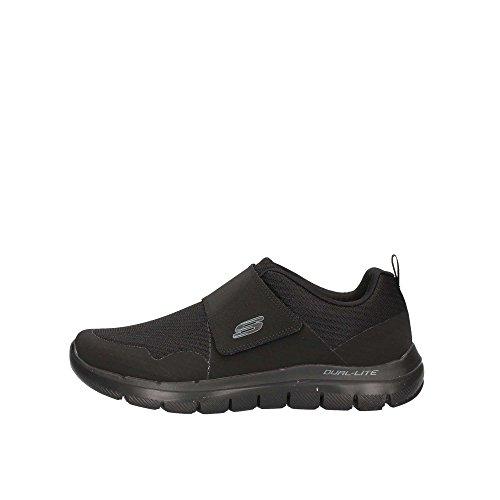 Skechers Flex Advantage Gurn - Sneakers Hombre, Schwarz, 8,5 D(M) US