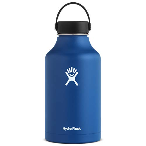 Hydro Flask, Bottle Wide Mouth Flex Cap Cobalt 64 Ounce