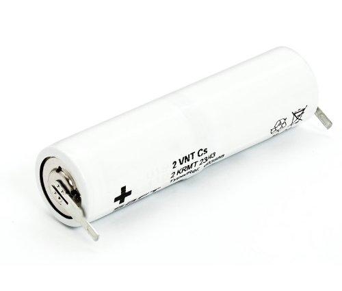 Pack de baterías 2,4V/1600mAh Ni-Cd.