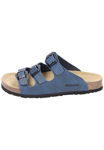 Dr. Brinkmann 700450 Damen Pantoletten Blau (Marine) - 3