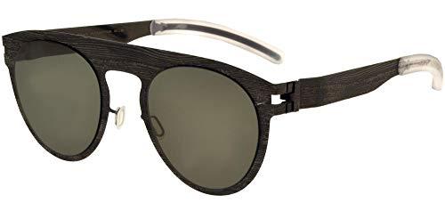 Mykita Gafas de Sol MAISON MARGIELA MMTRANSFER004 Grey Pine/Gunmetal Flash 18/18/0 unisex