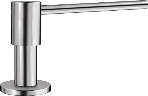 Blanco 517537 Seifenspender Piona Spülmittelspender für die Küchenspüle Edelstahl gebürstet