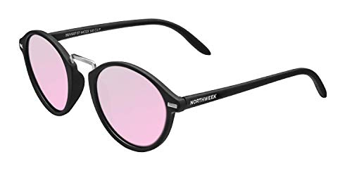 NORTHWEEK VESCA Pipe Gafas, Matte Black - Rose Gold, Adulto Unisex Adulto