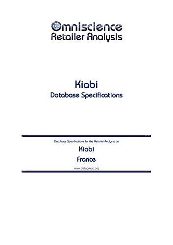 Kiabi - France: Retailer Analysis Database Specifications (Omniscience Retailer Analysis - France Book 53957) (English Edition)