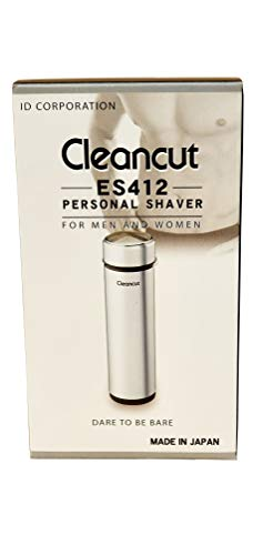 Cleancut – ES412 – Intimate and Sensitive Area Shaver – Designed for both Men and Women