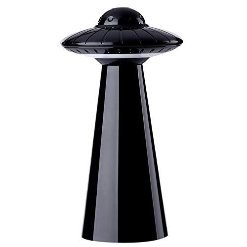 WWWL Lámpara de escritorio LED lámpara gota envío forma UFO lámpara de mesa luz inteligente casa noche creativo diseño regalo para bebé escritorio dormitorio negro