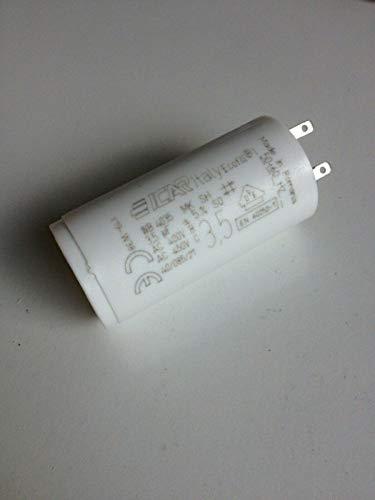Condensateur 3.5 µF pour volet roulant SOMFY cosses 2.8mm