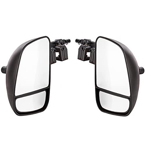 ONVAYA® Wohnwagenspiegel | Caravanspiegel | Anhängerspiegel | Zusatzspiegel für Wohnwagen & Auto | Wohnmobilspiegel | Universalspiegel | für alle gängigen Fahrzeugtypen | 2 Stück