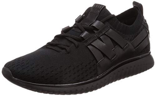 Cole Haan Herren Grand Motion Stitchlite Woven Trainer Sneaker, Schwarz, 43 EU