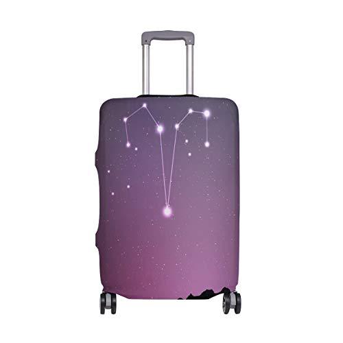 Aries Zodiac Travelers Choice Travel Equipaje con Ruedas giratorias Maleta con Equipaje de 24 Pulgadas