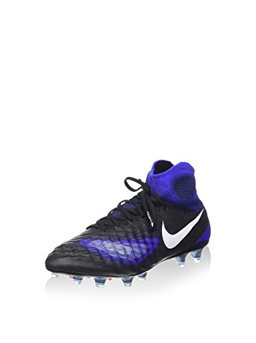 Nike Herren Magista Obra Ii Fg Fußballschuhe, schwarz/blau, 41 EU