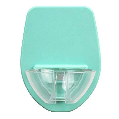 Badewanne Weinglashalter, Kunststoff Weinglashalter für die Dusche im Bad Rotwein Glashalter (Blau)