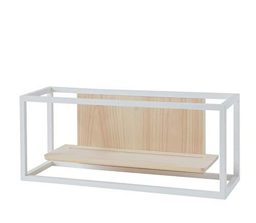 神棚の里 モダン神棚 かみさまの線 YOKO WF ホワイト 15×36×12.9cm
