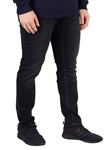 Tommy Jeans Tommy Jeans Herren Scanton - Eng geschnittene Jeans, Schwarz, 34W x 30L