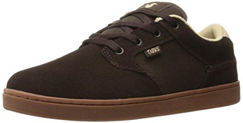 DVS Quentin, Chaussures de Skateboard Hommes, Marron Chocolate Suede, 46 EU