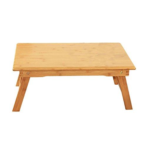 Table en bois ordinateur bureau lit plier paresseux Portable ordinateur portable petit bureau lit (taille : 70 * 40 * 29.5cm)